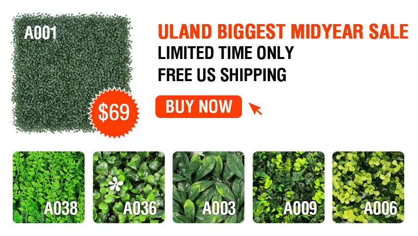 uland artificial hedge sale