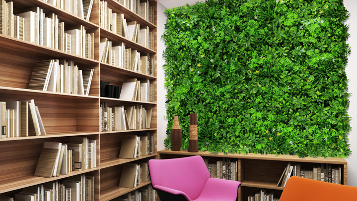 artifiicial green wall