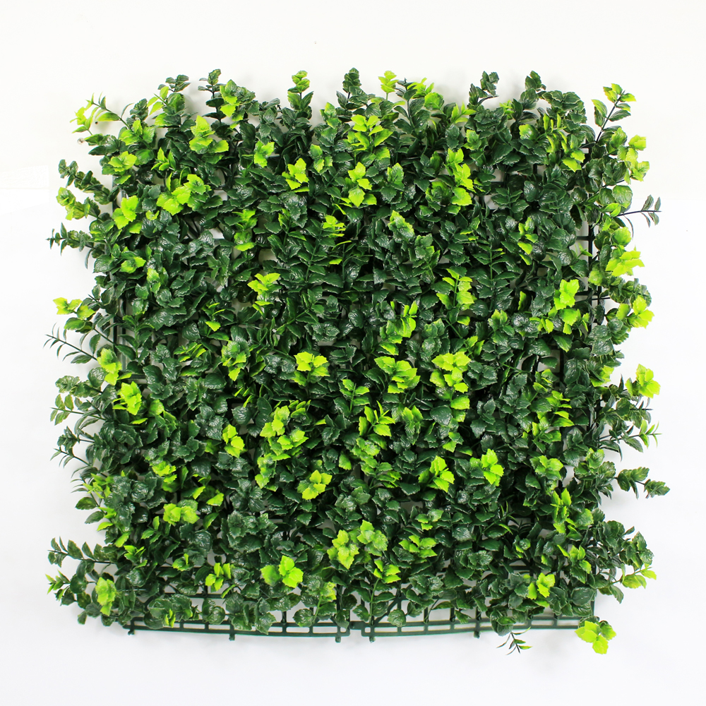 Artificial foliage hedges
