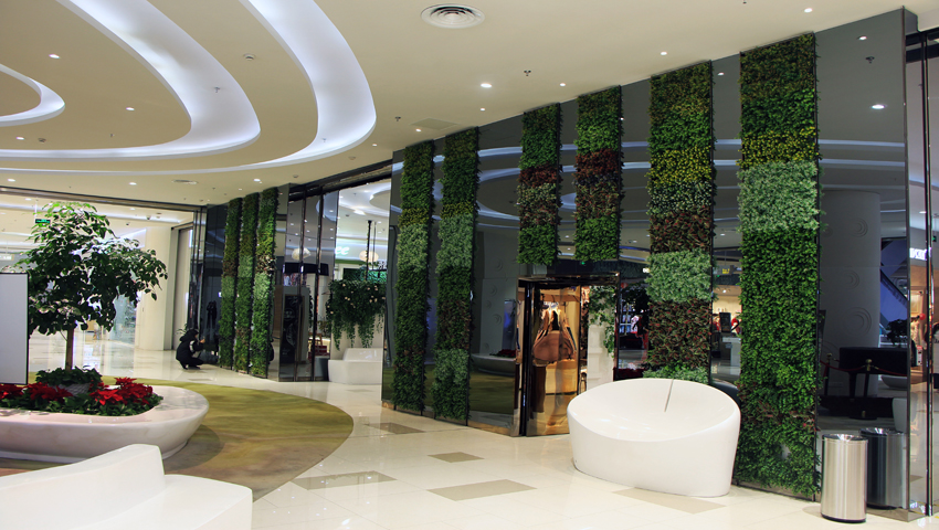 artificial green wall panels