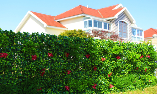 artificial hedge fence
