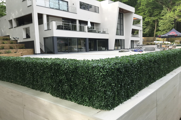 artificial hedge for outdoor