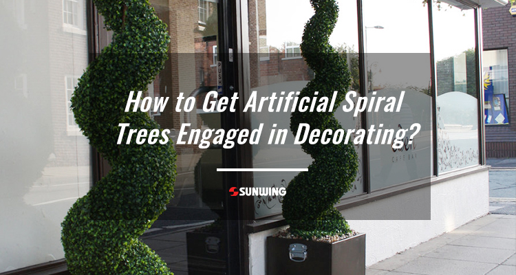How to Get Artificial Spiral Trees Engaged in Decorating